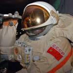 Костюм космонавта ссср в музее космонавтики на вднх
