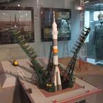 Ракета в музее космонавтики на вднх