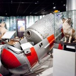 Мощный прибор в музее космонавтики на вднх