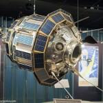 Экспозиция в музее космонавтики на ВДНХ