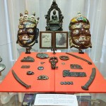 Маски в музее Рериха