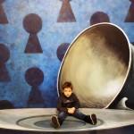 Фото из музея оптических иллюзий на ВДНХ