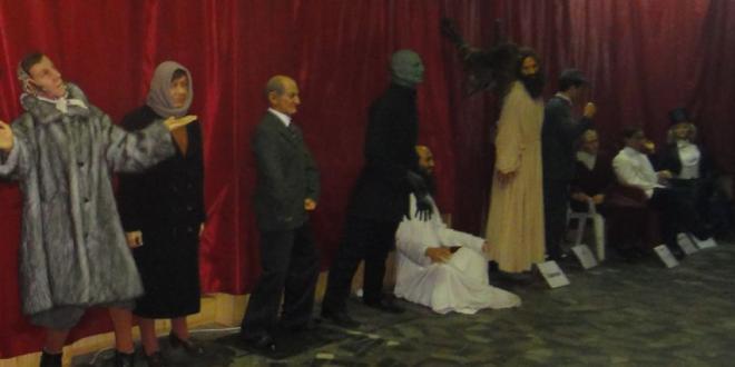 Фигуры в музее восковых фигур на ВДНХ
